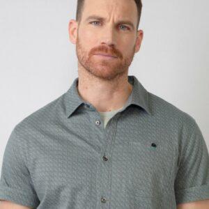 Shirt Short Sleeve Hedge Green