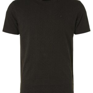 T-Shirt Crewneck 2 Coloured Jacquard