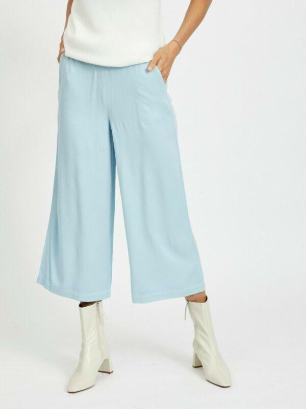 ViFanza Cropped Pants Light Blue