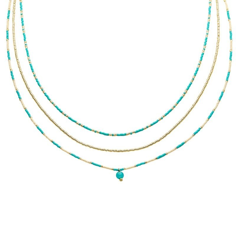Indian Summer Ketting Turquoise
