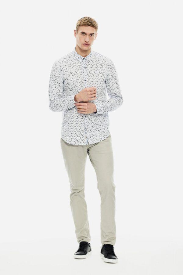 Shirtl/s white
