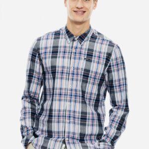 Men's shirt Check Dark Moon