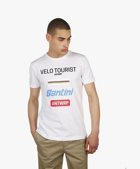 T-shirt Velo Tourist Santini