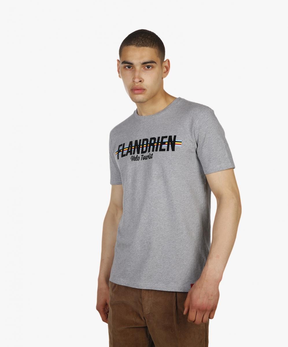 T-shirt Flandrien Grey Chiné ANTWRP