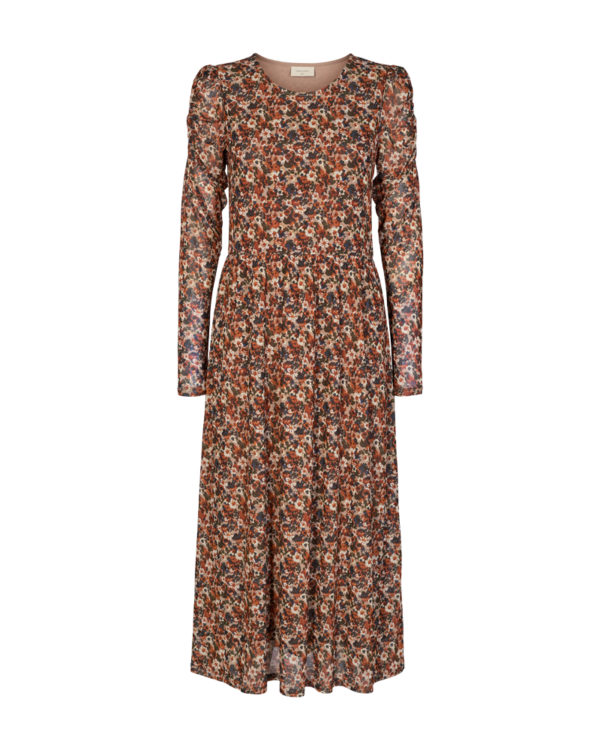 Dress FQLAMA Brandy brown