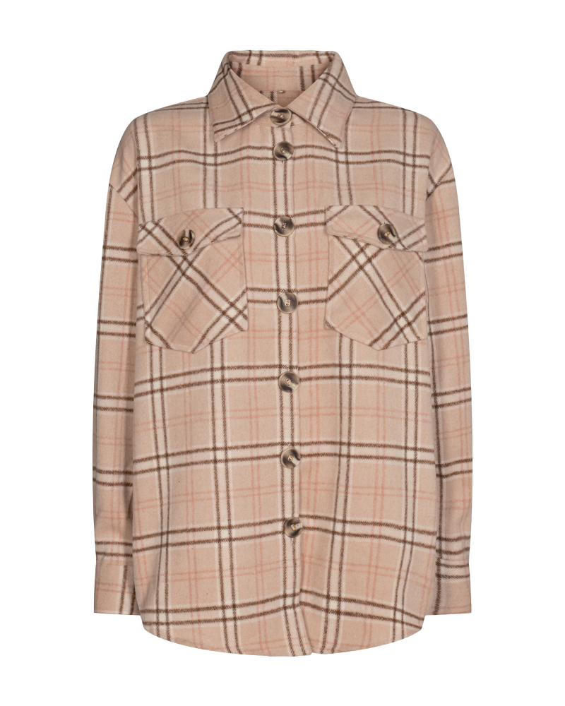Checkered Jacket Freequent Silver Mink