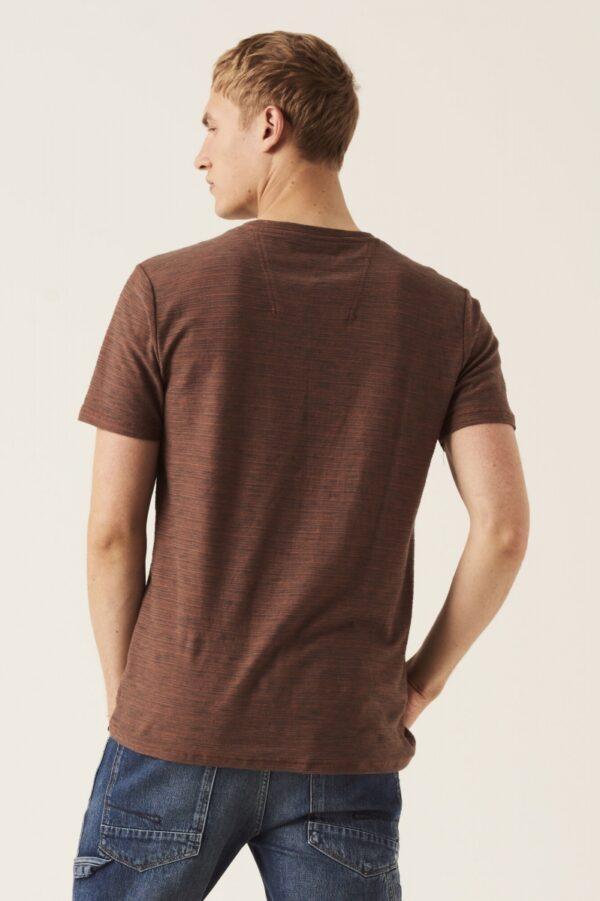 T shirt fine stripe sunburn