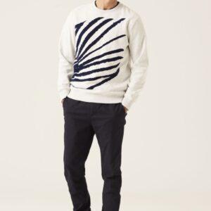 Sweater cap white mele