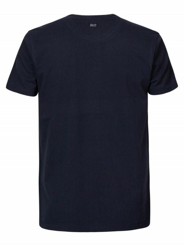 T-shirt Round Neck Logo Dark Navy