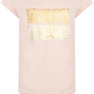 T-shirt Foil Artwork Peach