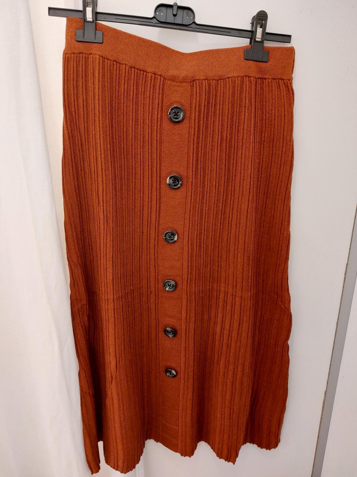 Fqani skirt brandy brown