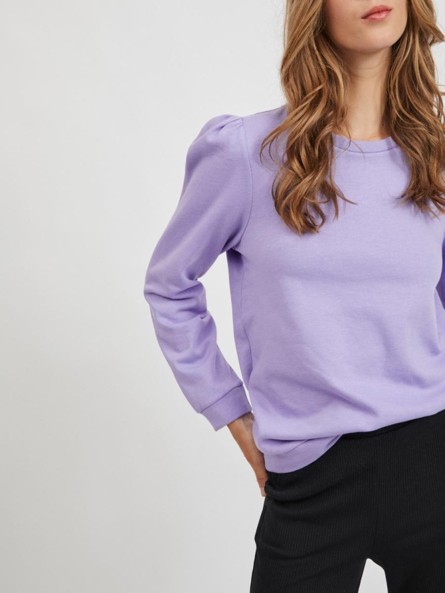 Virustie sweater lila