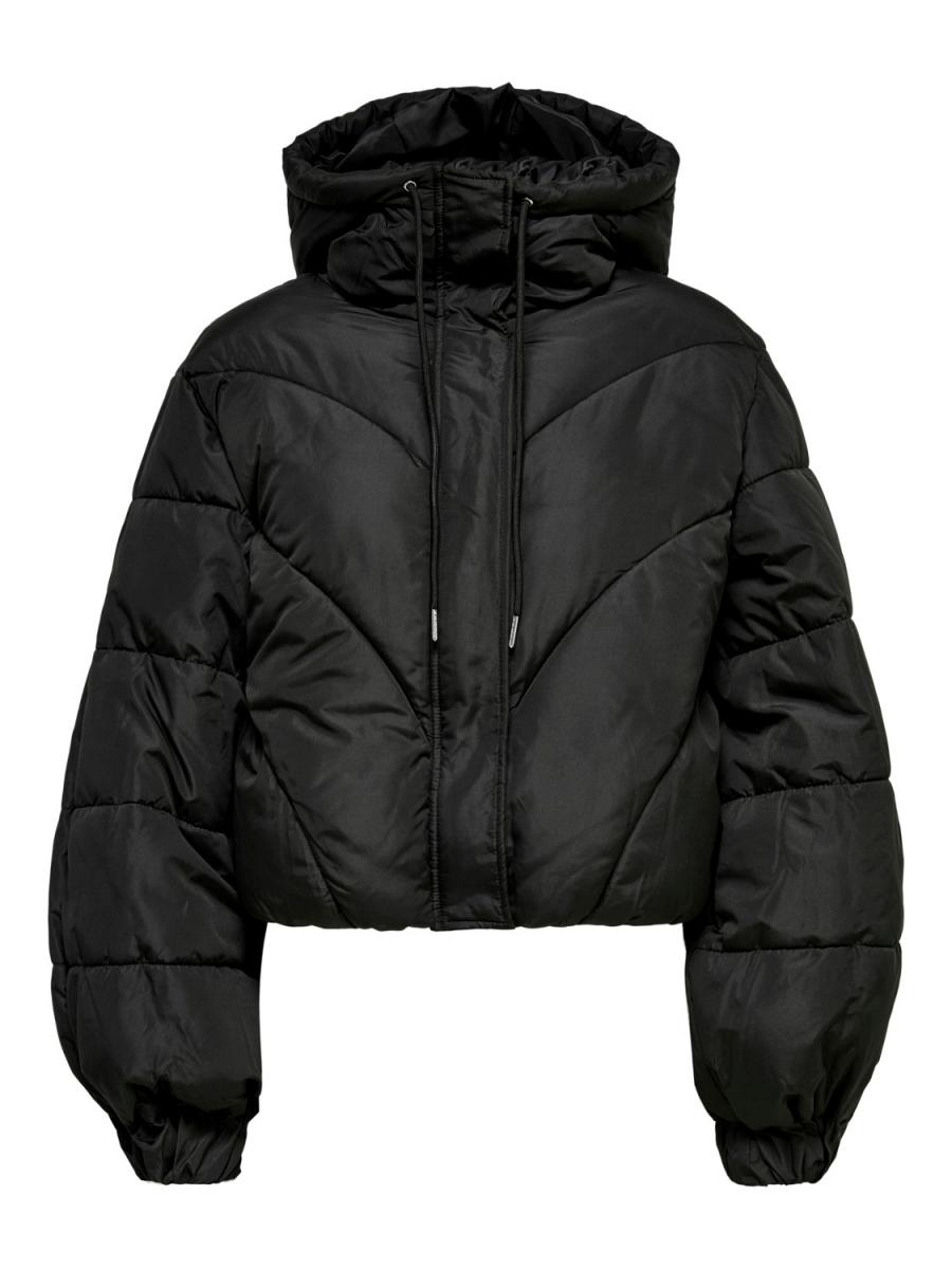 JdyDestiny Short Puffa Jacket Black
