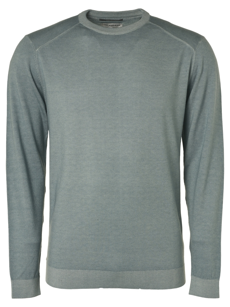 Fijne pull smoke special dyed with wool