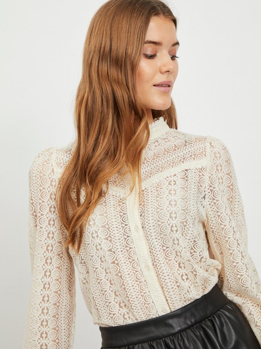 Vichikka lace shirt birch