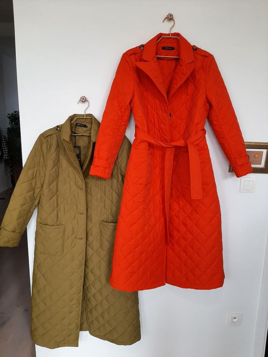 Coat Flora Orange