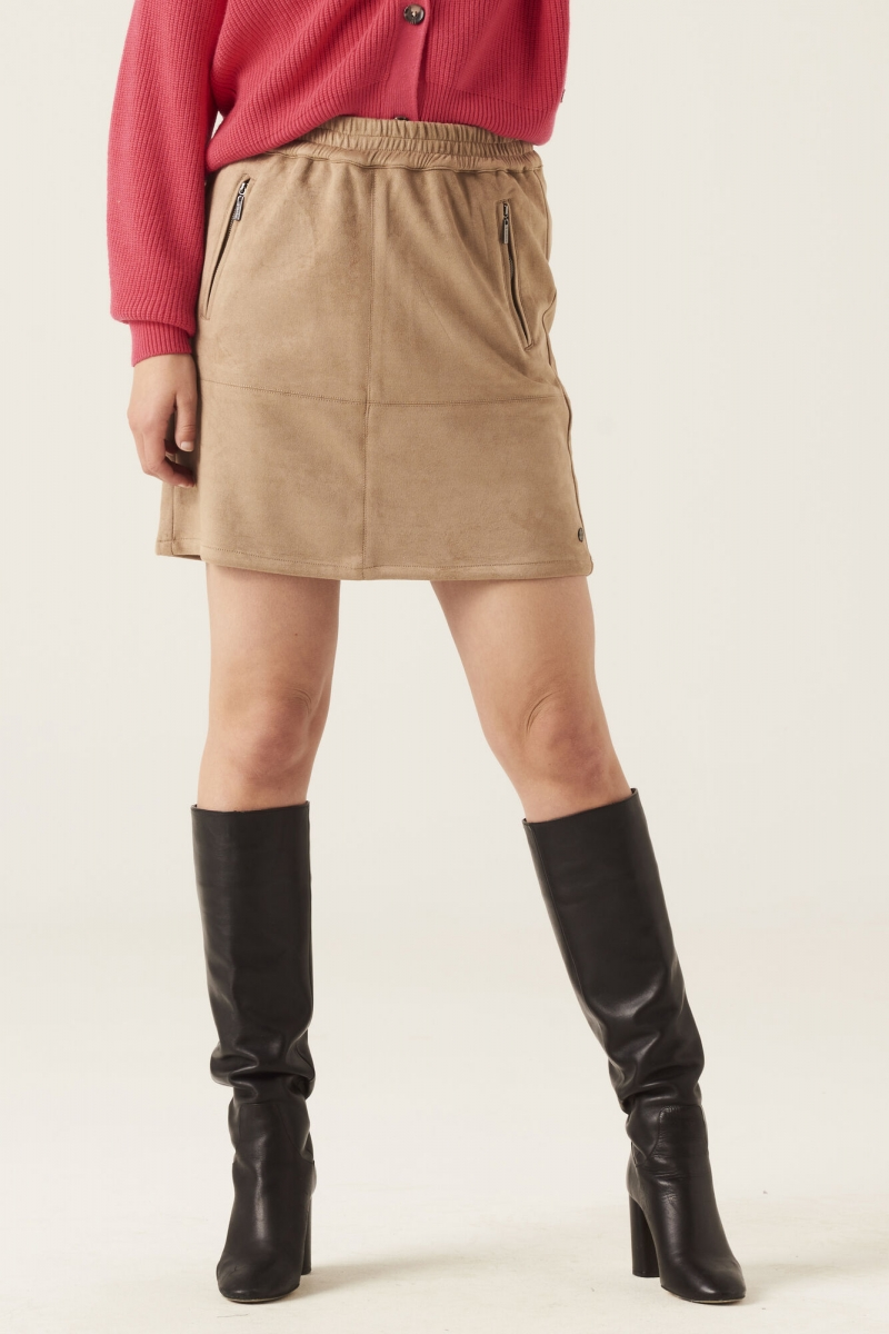 Skirt suede look nomad