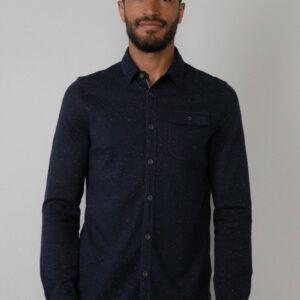 Shirt LS Dark Navy