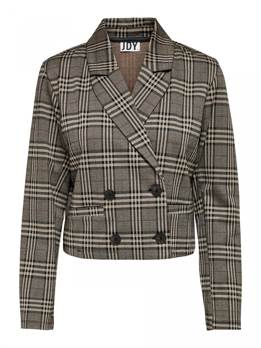 Jdymia short big check blazer