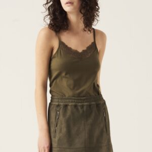 Top Lace Olive